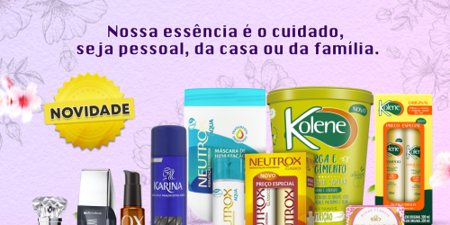 A marca que está presente no dia a dia de milhões de brasileiros trás novidades...