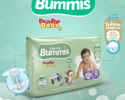 A nova fralda infantil Bummis Pica Pau Baby