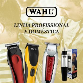 Linhas Profissional e Doméstica Máquinas Wahl