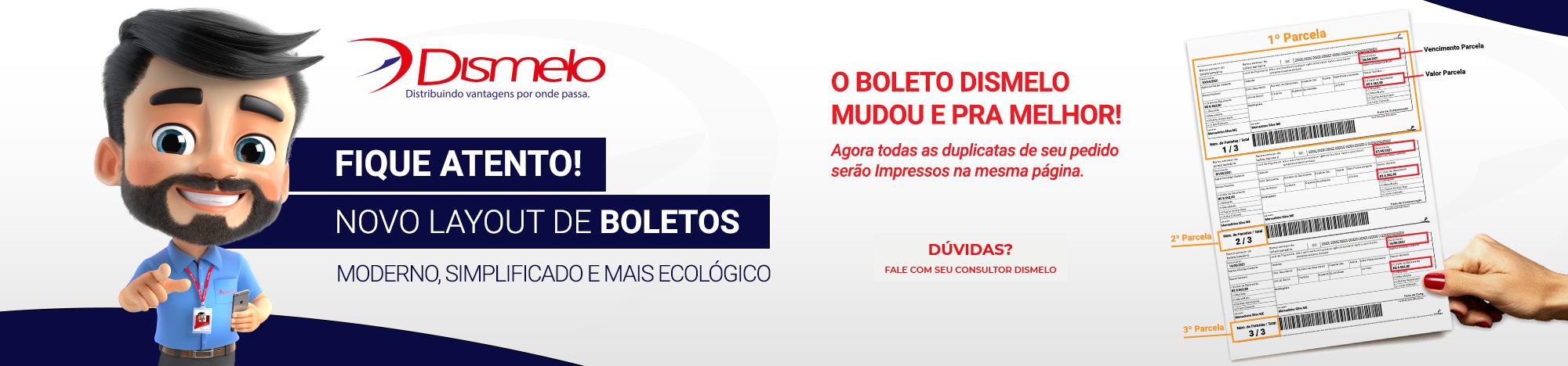 NOVO MODELO DE BOLETO