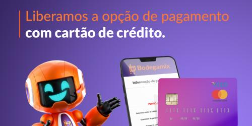 Agora você também tem a opção de fazer o pagamento do seu pedido usando seu...
